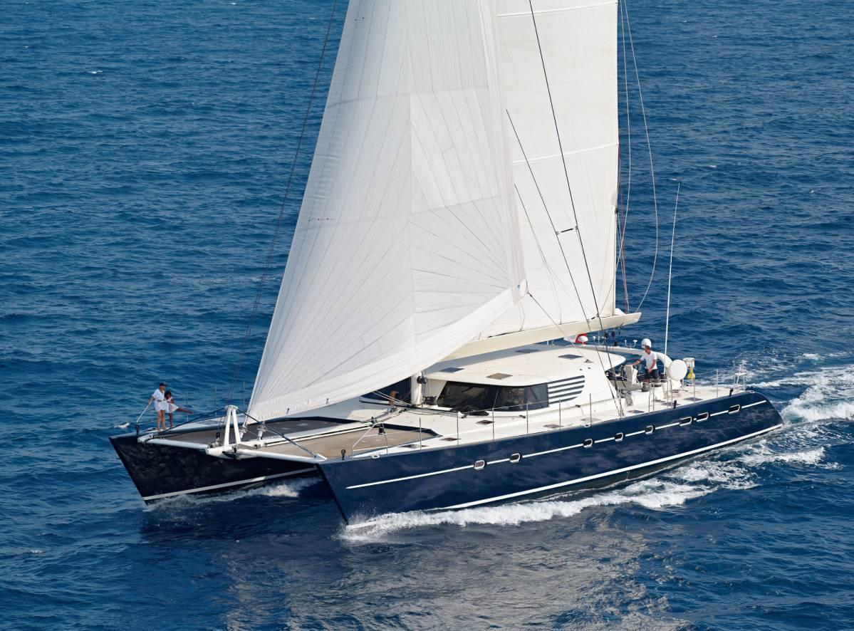 Azizam Catamaran Yacht